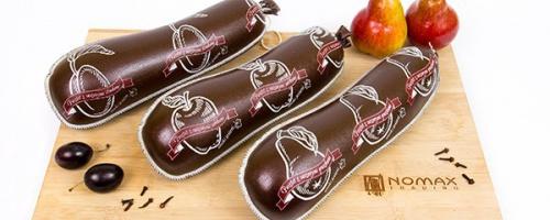 Schokolade mit Glitzer